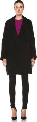 Diane von Furstenberg Laurel Coat in Black