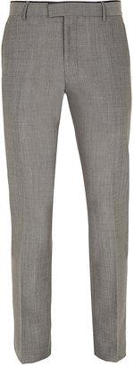 Topman Grey Bogart Skinny Suit Pants