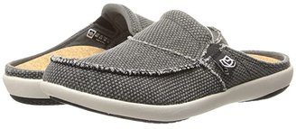 Spenco Siesta Slide (Charcoal Grey) Women's Clog Shoes