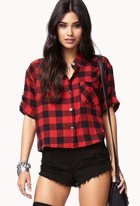 Forever 21 Cool Girl Checkered Shirt