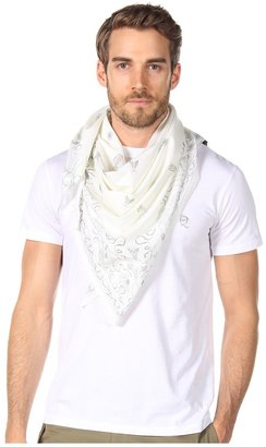 McQ by Alexander McQueen Tee with Scarf (Soft White) - Apparel