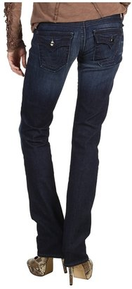 True Religion Billy Low-Rise Straight Crystal Embellished in in Assassination (Assassination) - Apparel