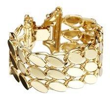 Asos Vintage Style Luxe Link Bracelet - Gold