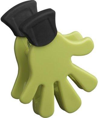 Crate & Barrel Five Finger Green Magnet-Clip