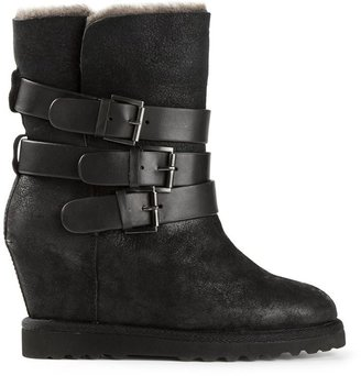 Ash 'Yes' buckled boots