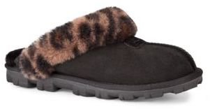 UGG Ladies Coquette Twinface Sheepskin Slip Ons