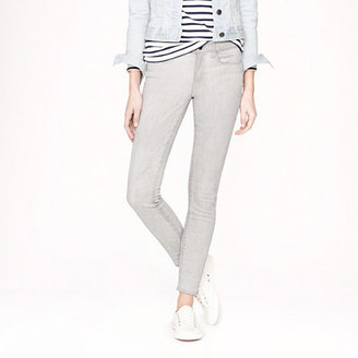 J.Crew Toothpick jean in silver wash
