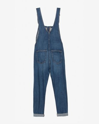 Current/Elliott Ranch Hand Denim Overalls