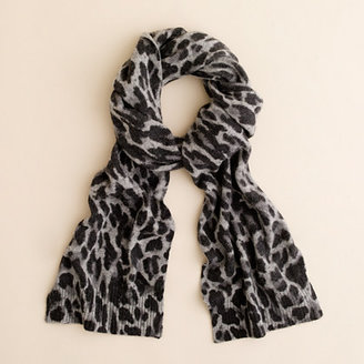 J.Crew Leopard scarf