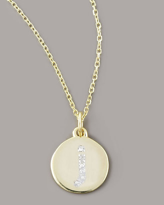 KC Designs Diamond-Initial Necklace, J