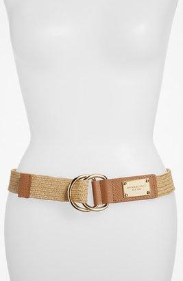 MICHAEL Michael Kors Stretch Belt Luggage Small/Medium