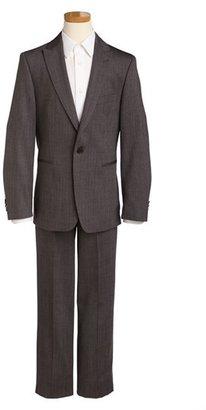 John Varvatos Wool Suit (Big Boys)