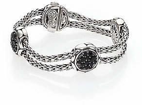 John Hardy Women's Kali Black Sapphire & Sterling Silver Four-Station Bracelet