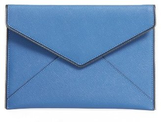 Rebecca Minkoff 'Leo' Envelope Clutch - Blue $95 thestylecure.com