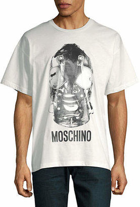Moschino Bondage Mask Cotton Tee