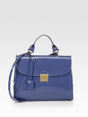 Marc Jacobs The 1984 Patent Leather Satchel