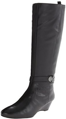 Bandolino Women's Adanna Wide Calf Leather Riding Boot $149 thestylecure.com