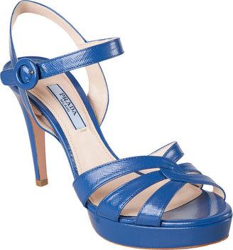 Prada Cutout Strap Sandal