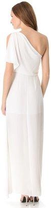 BCBGMAXAZRIA Kendal One Shoulder Gown