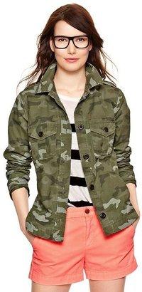 Gap Camo utiliy jacket