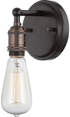 Filament Design Glomar 1-Light Rustic Bronze Incandescent Sconce
