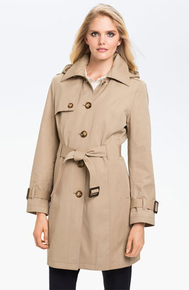 MICHAEL Michael Kors Belted Trench with Detachable Liner