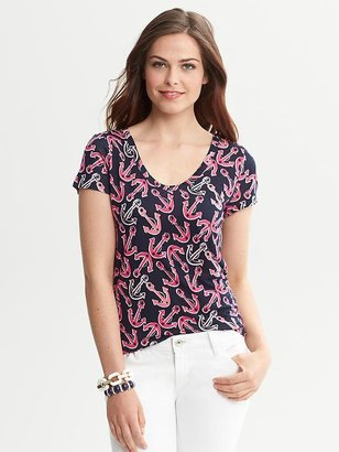Banana Republic Anchor Graphic Tee