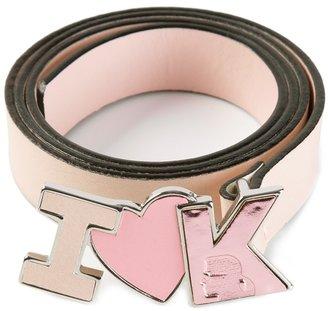 Karl Lagerfeld buckle belt