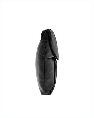 Spiegel Oversize Clutch Handbag with Softly Pleated Front
