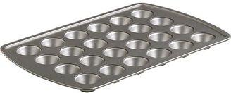 Mini Muffin Nonstick Cupcake Pan. 24 one-oz. cups.