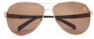 Marciano Oversized Aviator Sunglasses