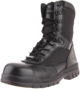 Bates Footwear Men's Safety Enforcer 8 Inch L N Steel Toe Uniform Work Oxford