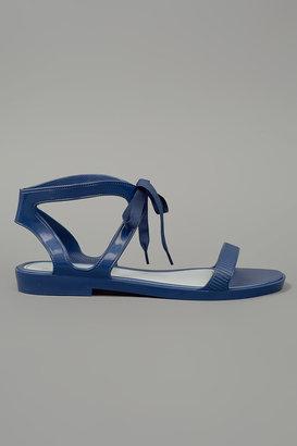 Melissa Artemis Sandal Flat Blue