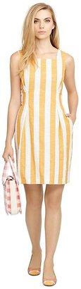 Sleeveless Square Neck Dress $450 thestylecure.com