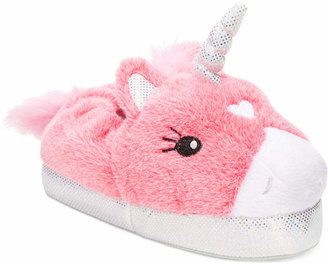 Stride Rite Little Girls' or Toddler Girls' Light-Up Unicorn Slippers $28 thestylecure.com