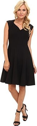 Calvin Klein Women's Fit-and-Flare Dress