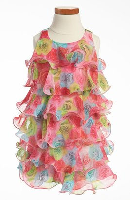 Biscotti Ruffle Dress (Toddler)