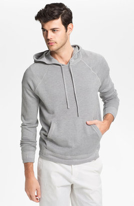 Vince Cotton & Cashmere Pullover Hoodie