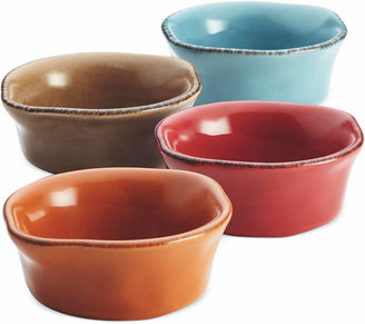 Rachael Ray Cucina Stoneware Assorted 4-Piece Dipping Cup Set