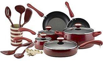 Paula Deen 21-pc. Porcelain Enamel Cookware & Utensil Set