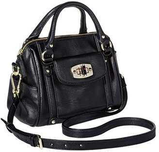 Merona Women's Mini Satchel Faux Leather Handbag with Removable Crossbody Strap - Merona $34.99 thestylecure.com