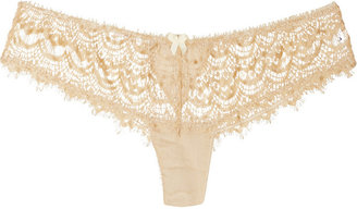 Mimi Holliday Shorty lace and satin briefs
