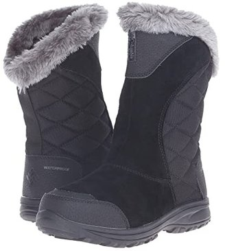 Columbia Ice Maidentm II Slip (Black/Shale) Women's Cold Weather Boots