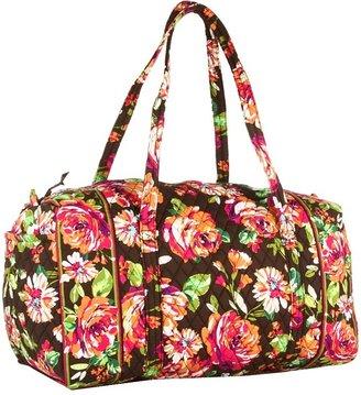 Vera Bradley Large Duffel (Dogwood) - Bags and Luggage