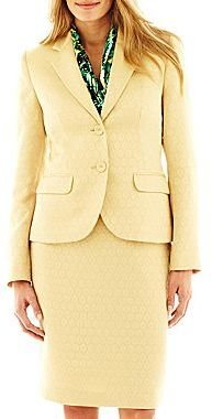 JCPenney 9 & Co.® Jacquard Jacket, Blouse or Skirt