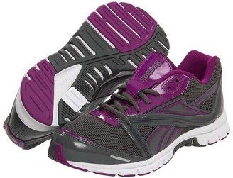 Reebok Ultimatic (Leather Cyclone Grey/Aubergine/Gravel) - Footwear