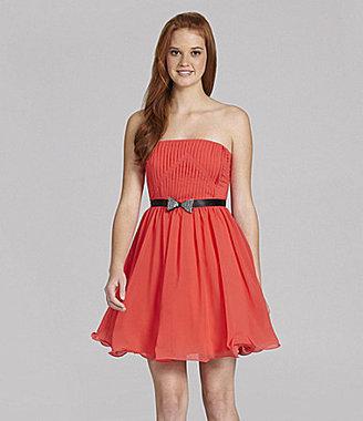 Jodi Kristopher Strapless Dress