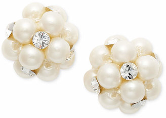 Charter Club Simulated Pearl Cluster Stud