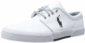 Polo Ralph Lauren Men's Faxon Low Sport Leather Fashion Sneaker