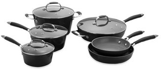 Fagor Michelle B by 10-Piece Forged Aluminum Cookware Set - Black